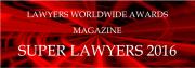Lawyers Worldwide Awards Magazine Super Lawyers 2016