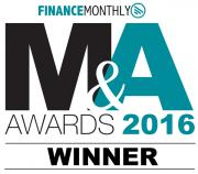 The Finance Monthly M&A Awards 2016