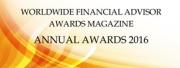 Worldwide Financial Advisor Awards Magazine Annual Advisor 2016